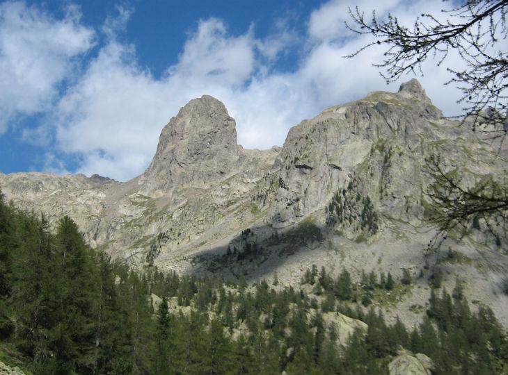 les montagnes du Mercantour