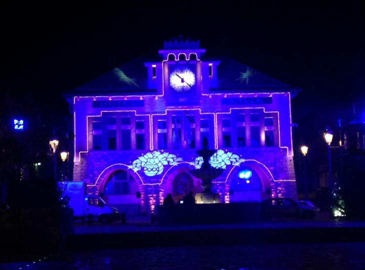 illuminations de Noël à Roquebillière