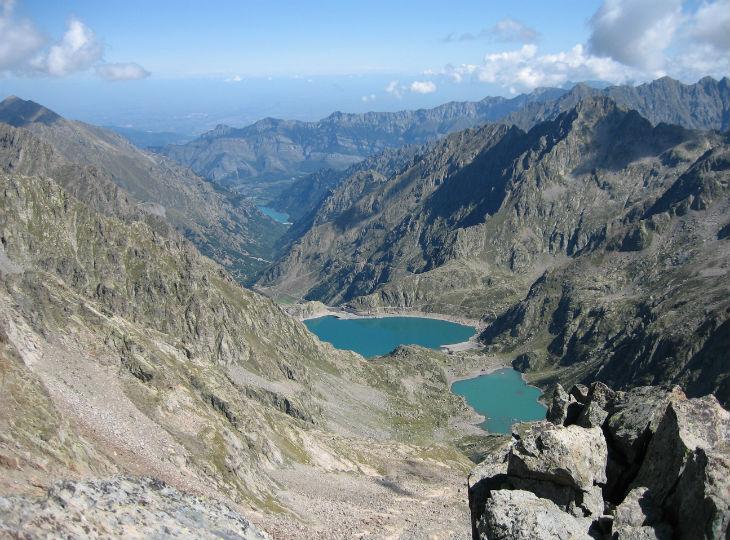paysages et lacs du Mercantour