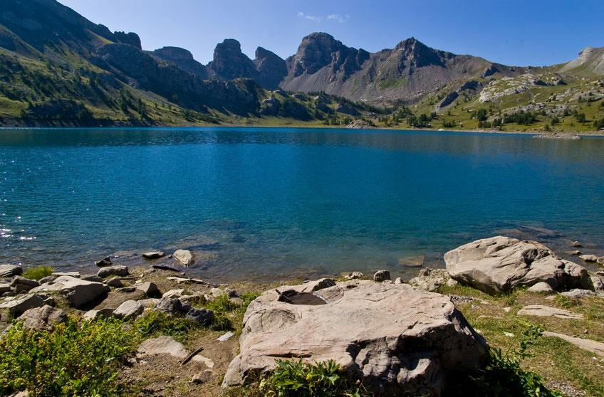 lacs du parc du Mercantour