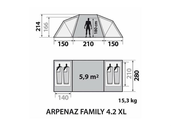 location tente prêt à camper dans les Alpes-Maritimes