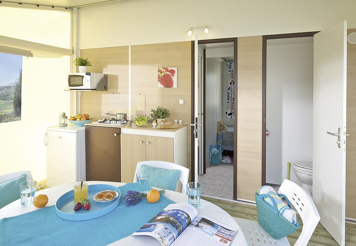 la cuisine & terrasse